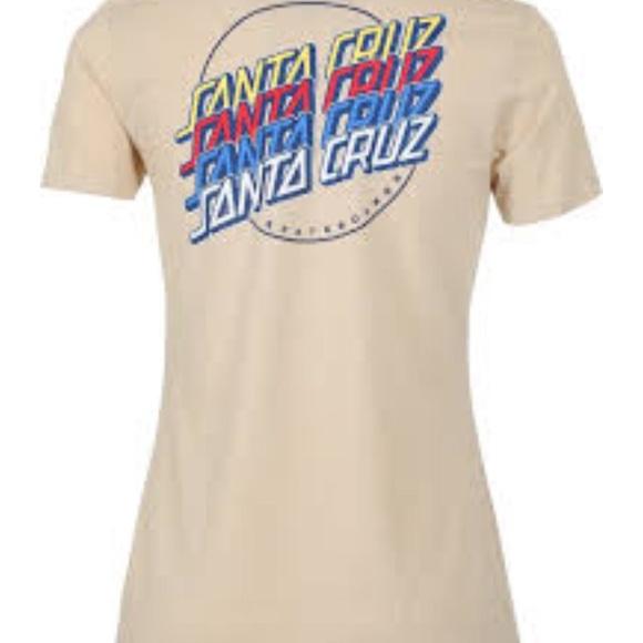 Santa Cruz Skateboards Tops - Santa Cruz Skateboard Short Sleeve Shirt